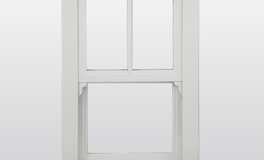 Example of Sash Window from front