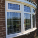 LEADED uPVC BAY WINDOW
